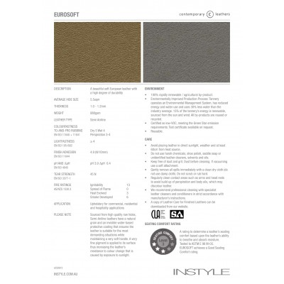 Eurosoft - Semi-Aniline Leather