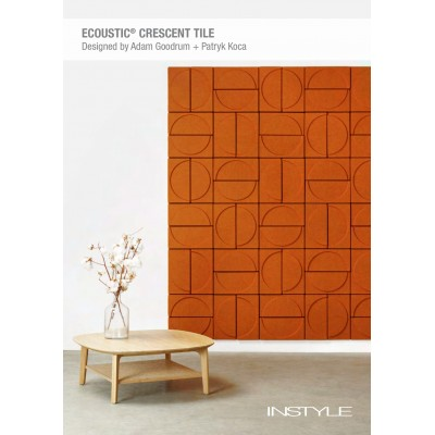 Ecoustic Cresent Tile